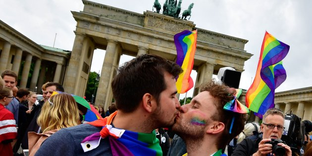 GERMANY-POLITICS-GAY-MARRIAGE-HOMOSEXUALITY-PARLIAMENT