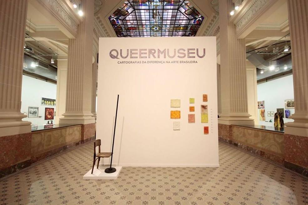 """Queermuseu"""" em Porto Alegre (foto: O Globo)"""