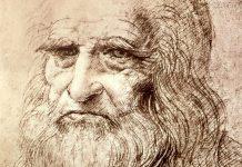 Autorretrato de Leonardo da Vinci, 1512