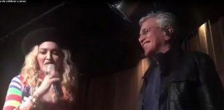 Madonna e Caetano