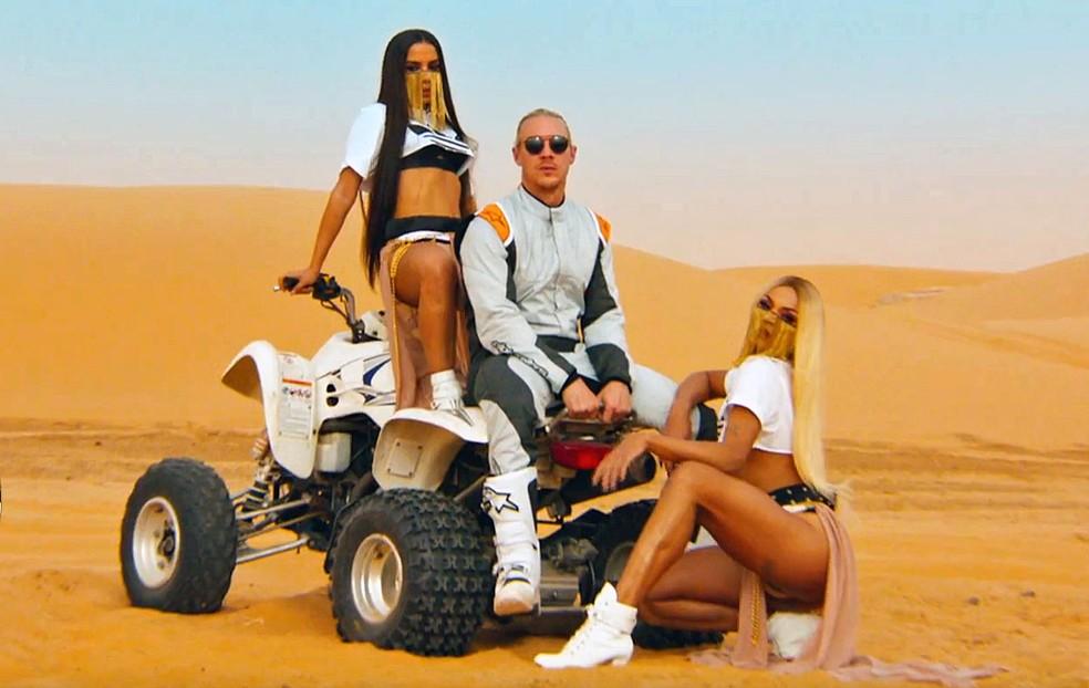 Diplo com Anitta e Pabllo no Marrocos