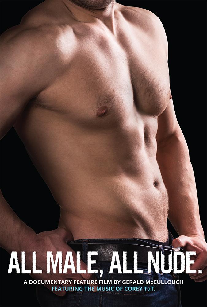 "Pôster de ""All Male, All Nude"""