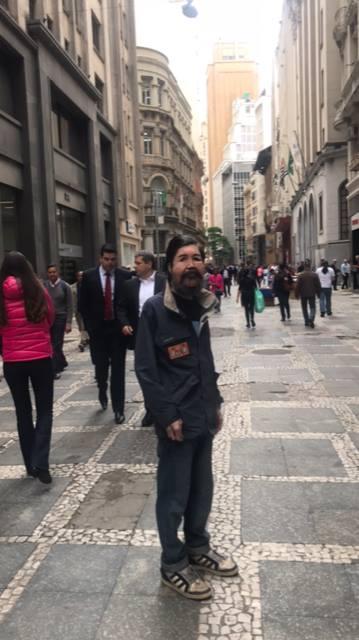 Ricardo, mais conhecido como Fofão da Augusta. Foto: Facebook / Chico Felitti