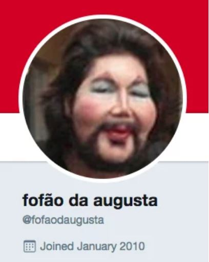 Um perfil fake no Twitter.