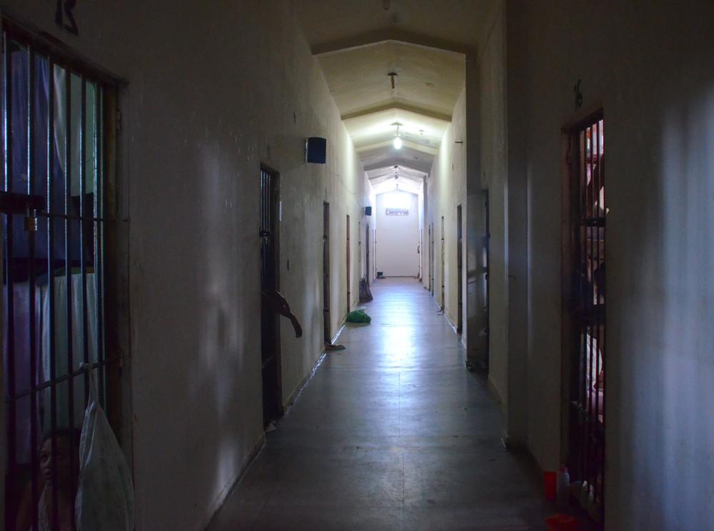 Transexuais que passaram por redesignação de sexo vão poder ir para unidades prisionais do sexo correspondente; imagem mostra pavilhão do Presídio Feminino Julia Maranhão, em João Pessoa (Foto: Dani Fechine/G1/Arquivo)