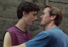 DIVULGAÇÃO Timothée Chalamet, à esquerda, e Armie Hammer são Elio e Oliver, respectivamente, em adaptação para o cinema.