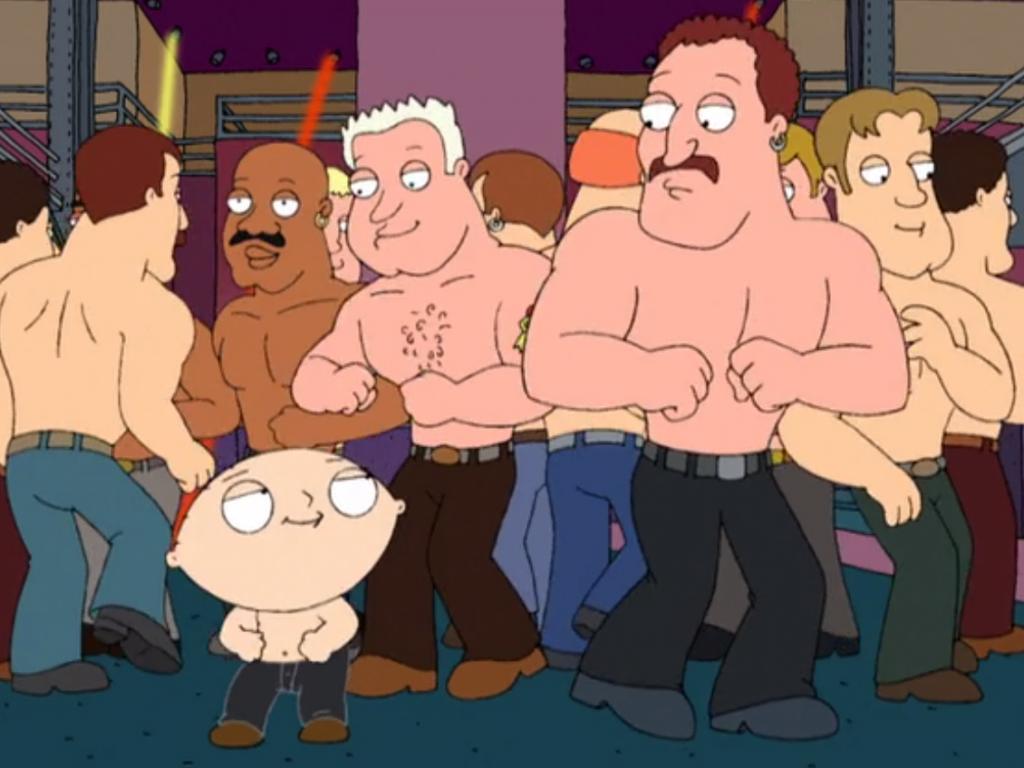 Cena de temporada antiga de Family Guy. Foto: reprodução