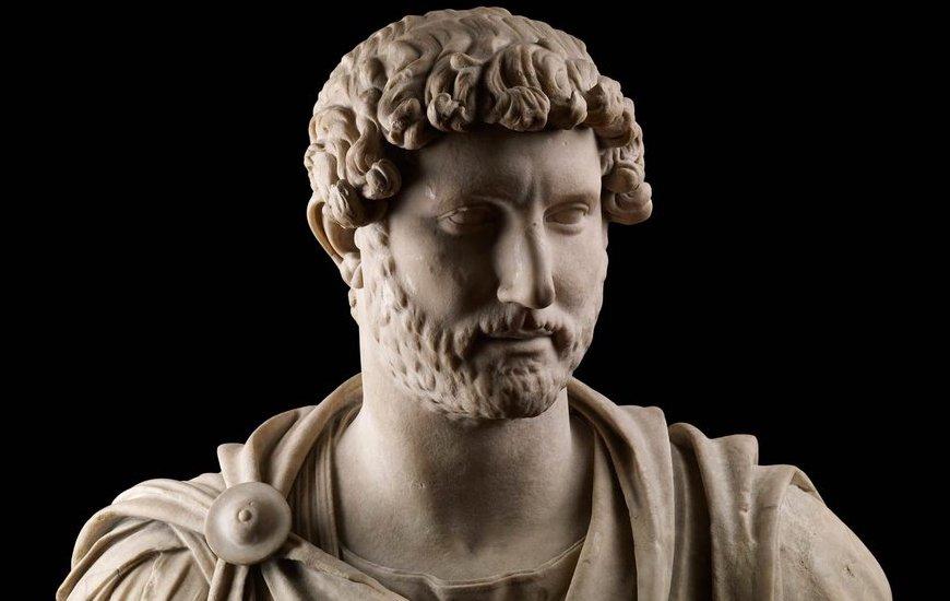 Estátua do Imperador Hadrian do British Museum | Foto: British Museum Twitters