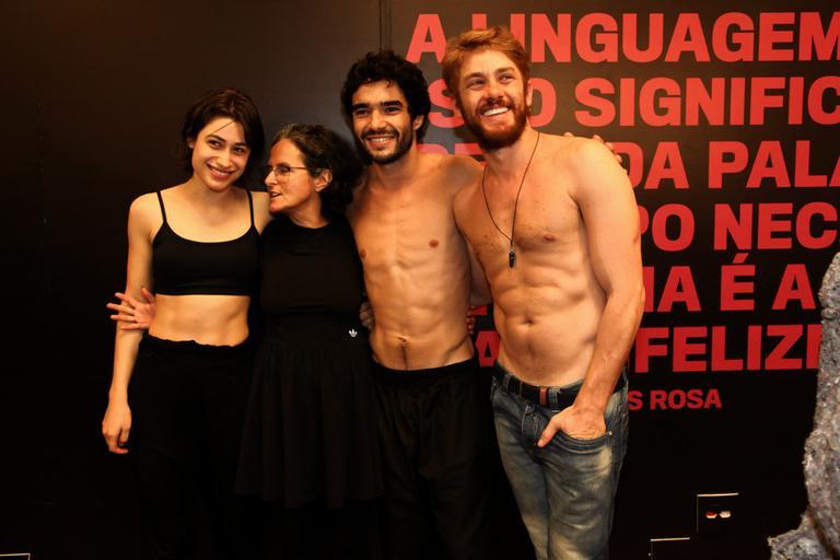 Luísa Arraes, Bia Lessa, Caio Blat e Leonardo Miggiorin (Marcos Ribas/Brazil News)