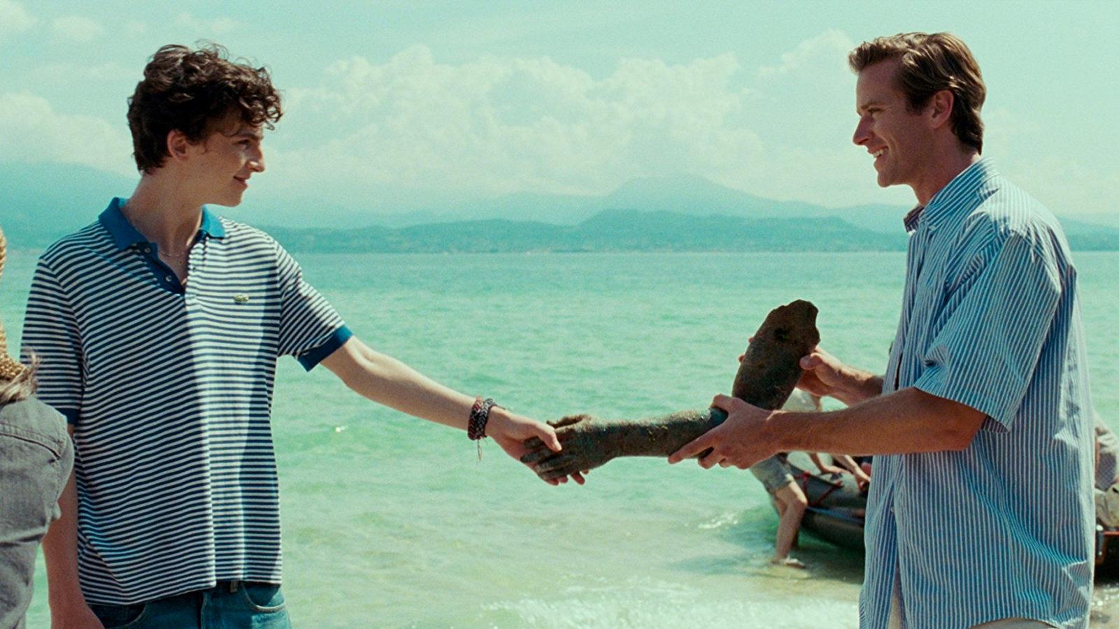 Cena do filme no Lago de Garda - Imagem: Divulgação