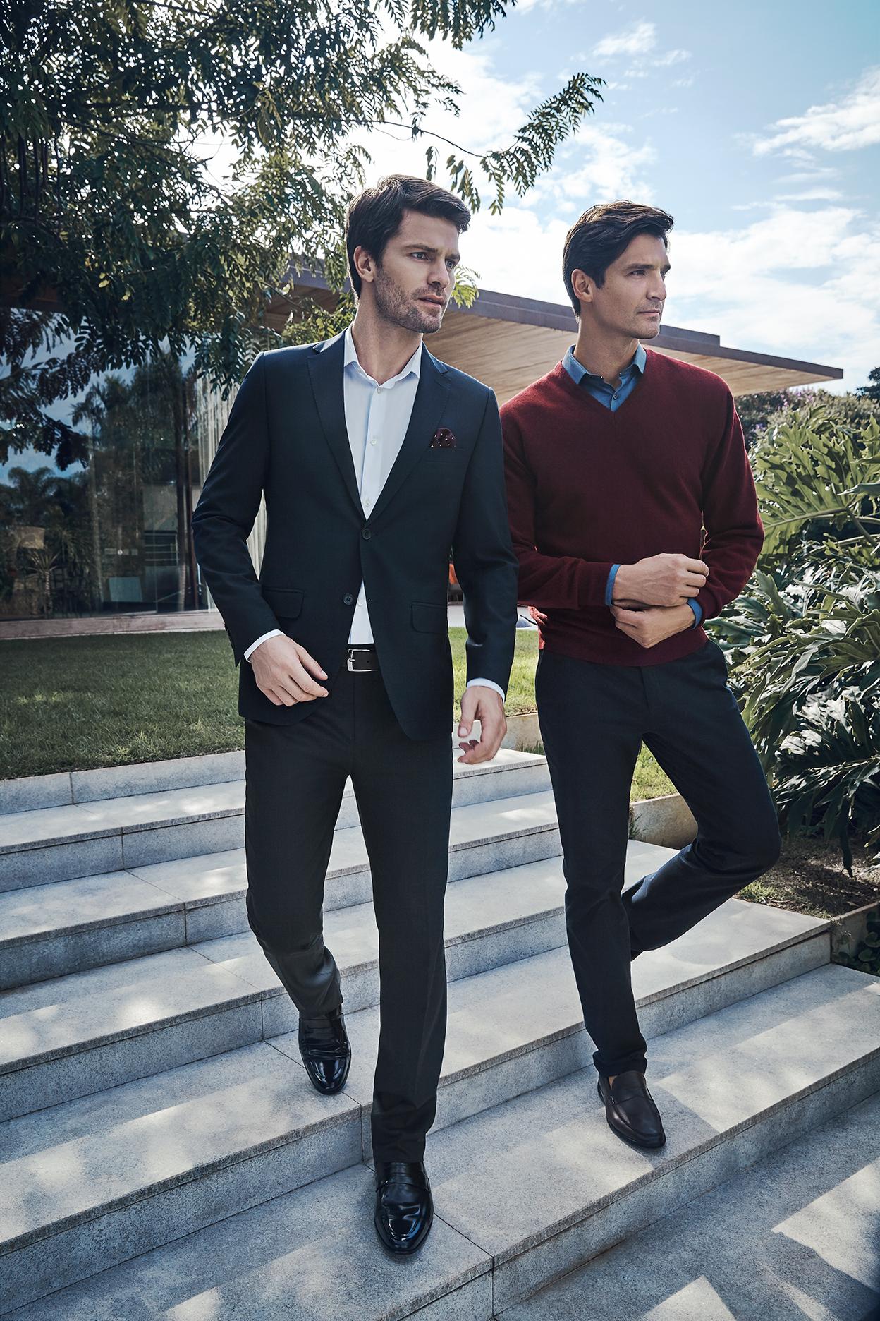 Cartela de cores segue tendência da moda internacional  Divulgação