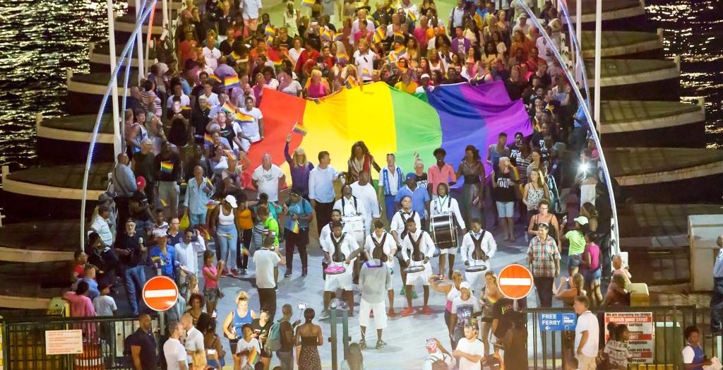 Pride Walk - Ponte Rainha Emma - Foto: divulgação