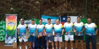 Dogos Tênis Tenis, que fazem parte da Associação Argentina de Atletas pela Diversidade (AADD).