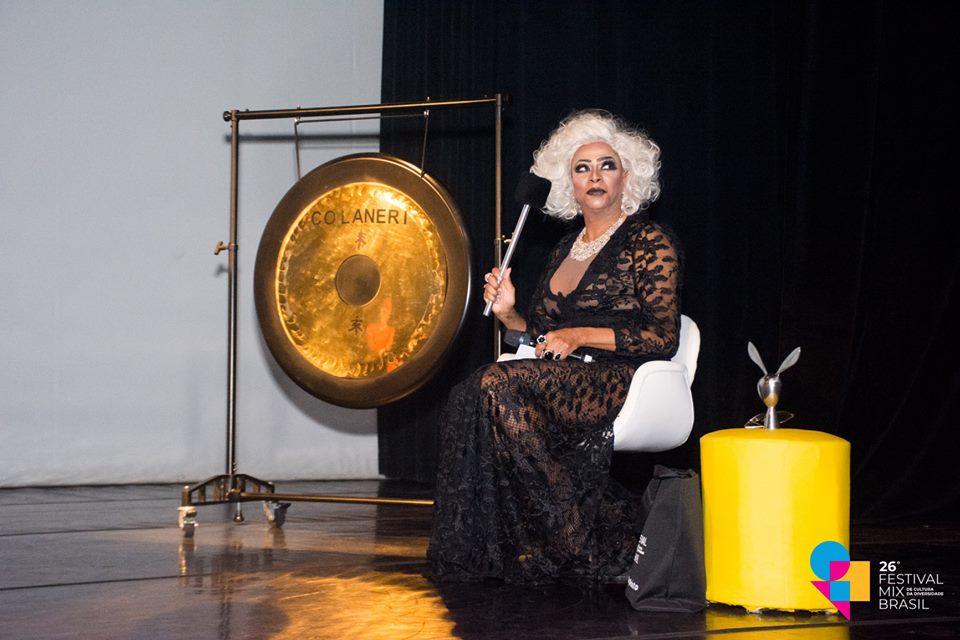 Silvetty Montilla foi convidada para apresentar o Show do Gongo deste ano. Foto: Festival MixBrasil