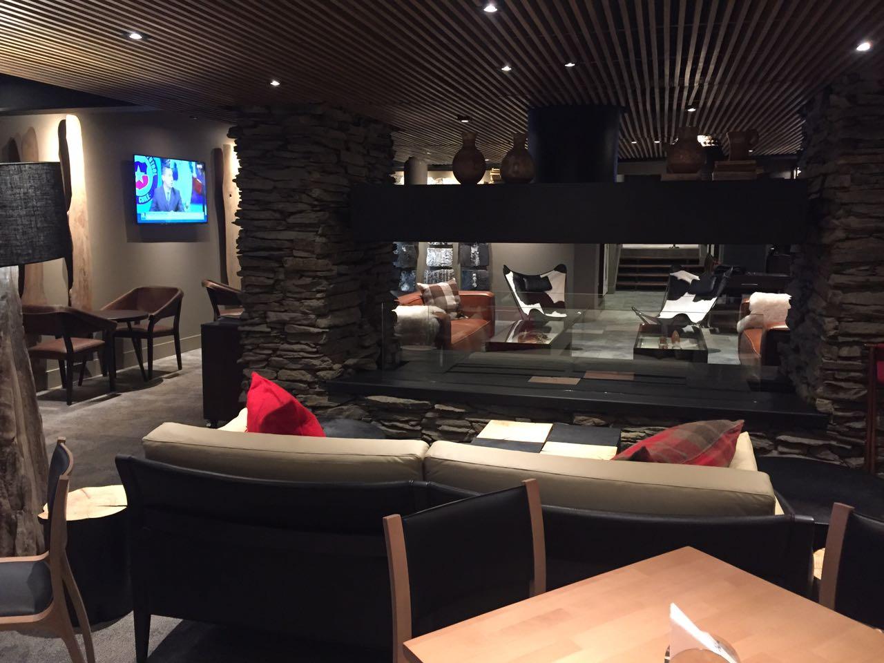 Restaurante Valle Lounge terá café da manhã e almoço para os visitantes Divulgação andes valle nevado