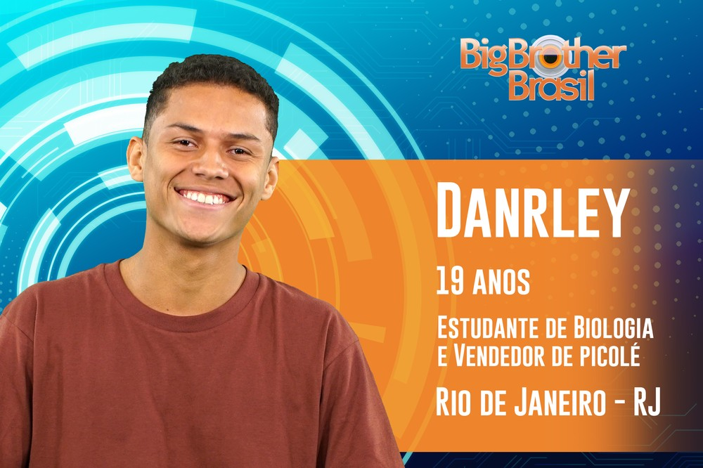 Danrley é o participante do BBB19 — Foto: TV Globo