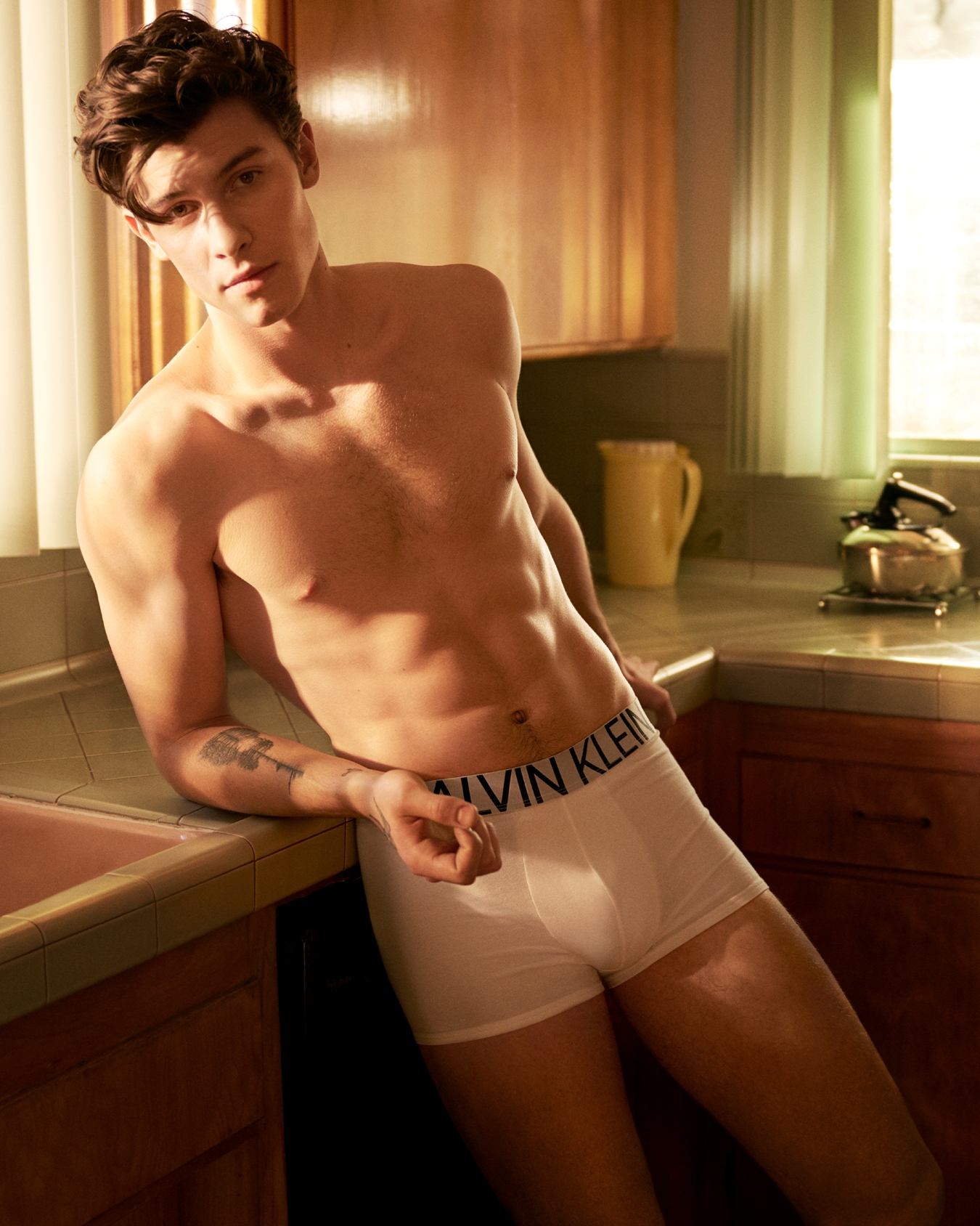 Shawn Mendes para Calvin Klein (Glen Luchford)