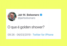 twitter golden shower