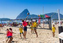 rio de janeiro Primeiro Campeonato de Vôlei de Praia. Foto: Scruff