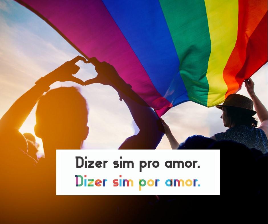 """casamento Cinco casais poderão dizer """"sim"""", oficializar gratuitamente sua união e ainda participar de forma inusitada da maior Parada do Orgulho LGBT do mundo"""