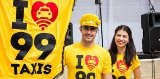 99 Ativação da 99 no carnaval. Foto: reprodução/Mundo do Marketing