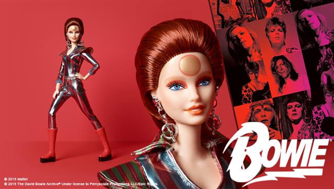 """Mattel lança Ziggy Stardust Barbie para o 50º aniversário da """"desigualdade no espaço"""""""