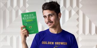 Loja das Pocs Por Que Bolsonaro Merece Respeito, Confiança & Dignidade? (livro-sátira) (Português) Capa