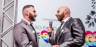 Casamento Coletivo LGBT na cidade de São Paulo. Foto: Coordenação de Políticas para LGBTI de SP