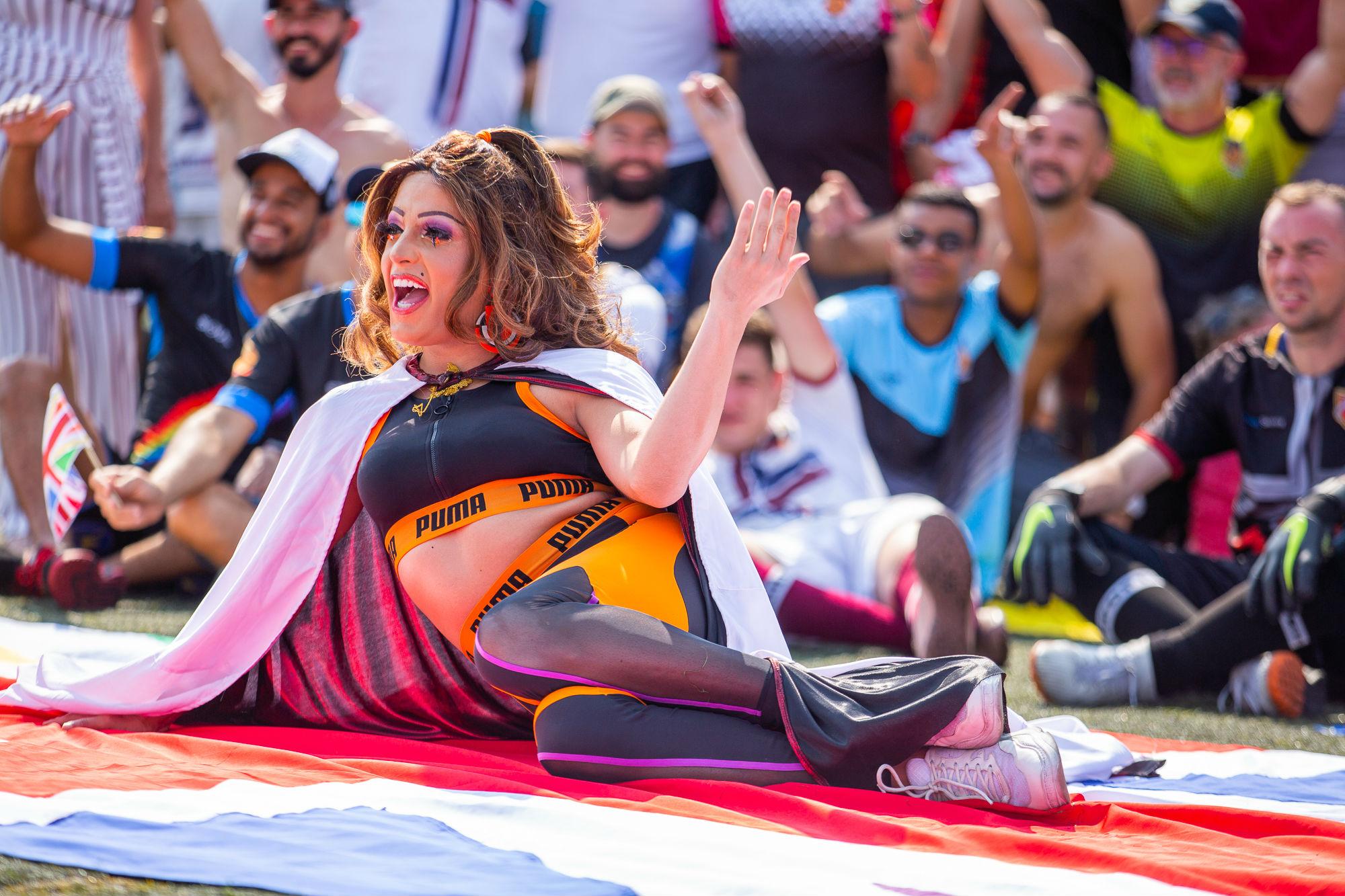 Jade Odara, a drag-madrinha da competição