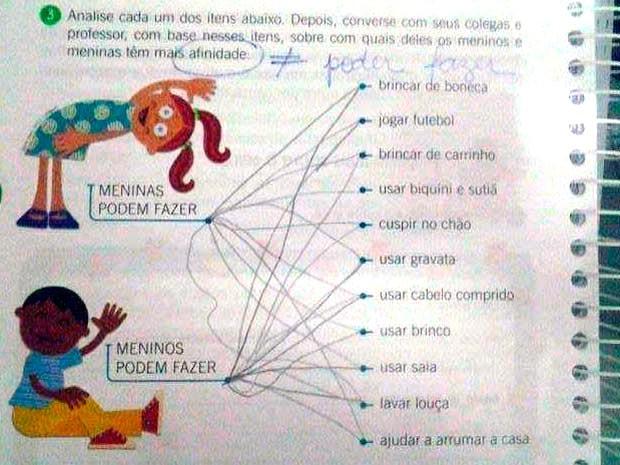 Como a professora explica que o menino pode usar sutiã? | Eliseu Neto