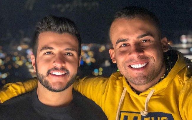 Matheus Ribeiro e namorado