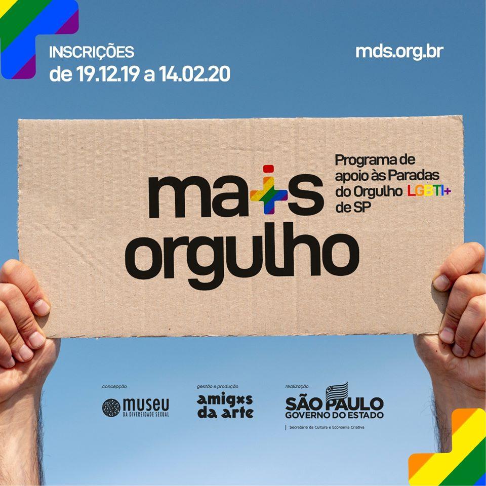 Iniciativa pública beneficia Paradas LGBT+ no estado de São Paulo