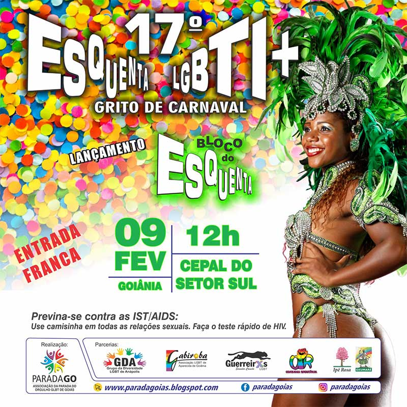 Carnaval 2020 - Bloco do Esquenta LGBT