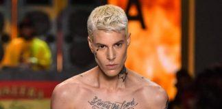 Sam Porto, modelo trans que se destacou no último SPFW, estrela a capa digital da Vogue