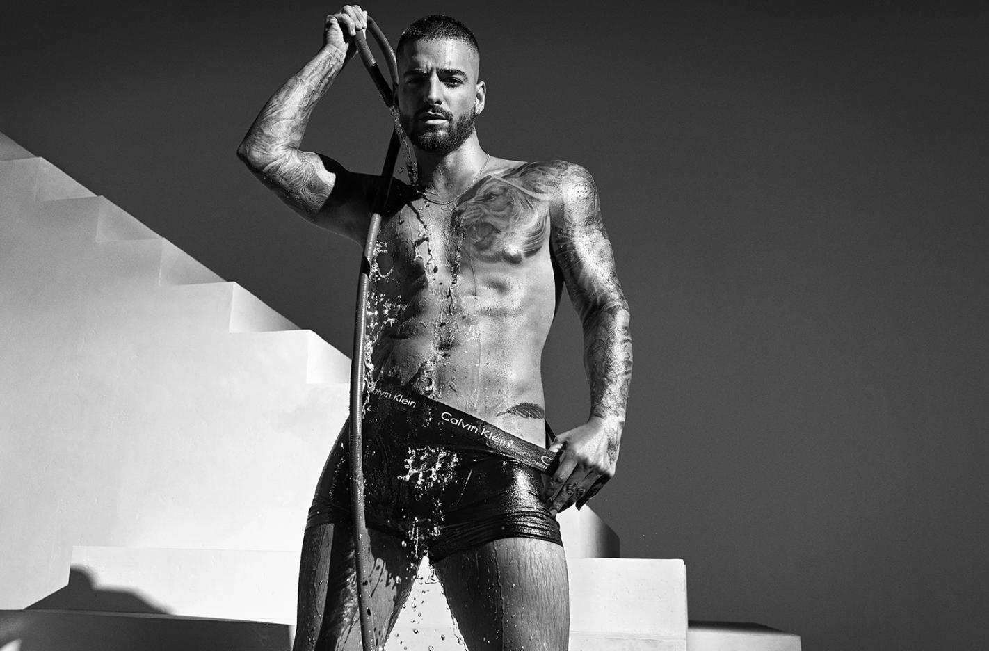 Maluma para Calvin Klein - Primavera 2020