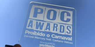 """""""Estamos nesta luta para a vida ficar melhor para todos"""", diz Daniela Mercury ao receber prêmio LGBT+"""