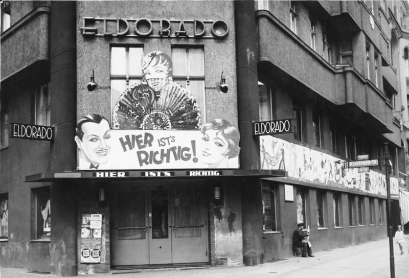 Clube Eldorado em Berlim, fundado em 1920, era destinado ao público LGBTQIA+ (Foto: Reprodução)