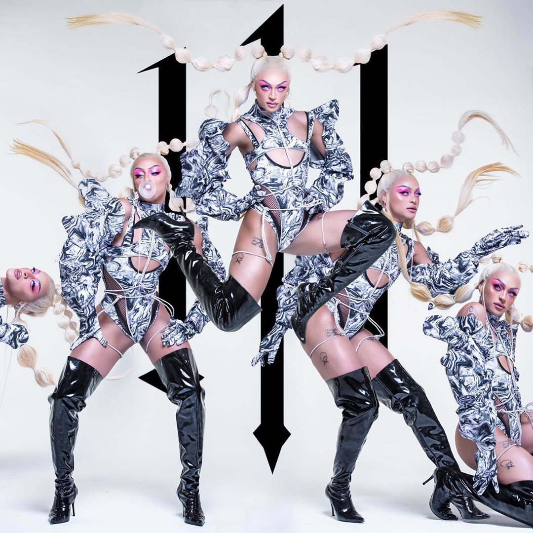 "Pabllo Vittar divulga capa da segunda parte do álbum ""111"""