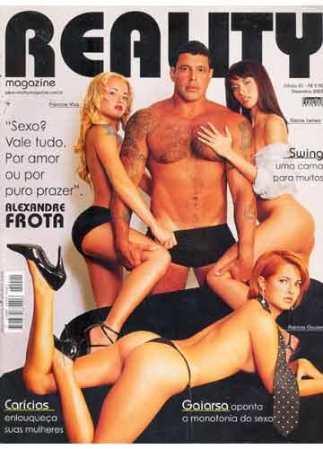 Alexandre Frota debocha da feitura do filho 04, do casamento 02, de Bolsonaro