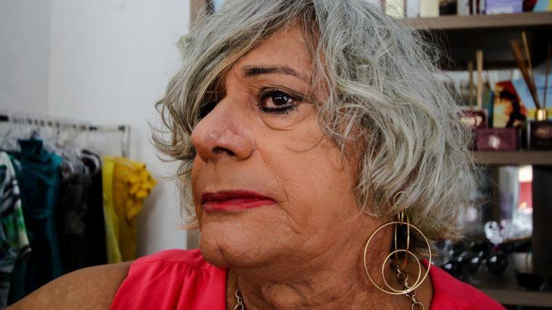 Afrodite enfrentou muita discriminação da família (Foto: Alair Ribeiro / BBC Brasil)