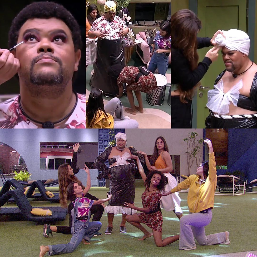 Sisters fazem Babu se montar como drag queen no BBB20