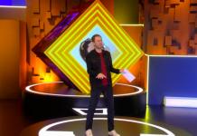 Ao vivo, Tiago Leifert dança música de Dua Lipa com coreografia de Manu Gavassi don't start now