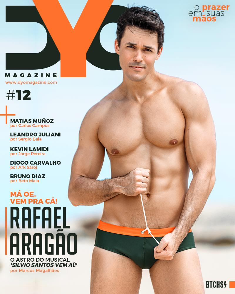 Rafael Aragão, que interpreta Silvio Santos em musical, posa para DYO Magazine