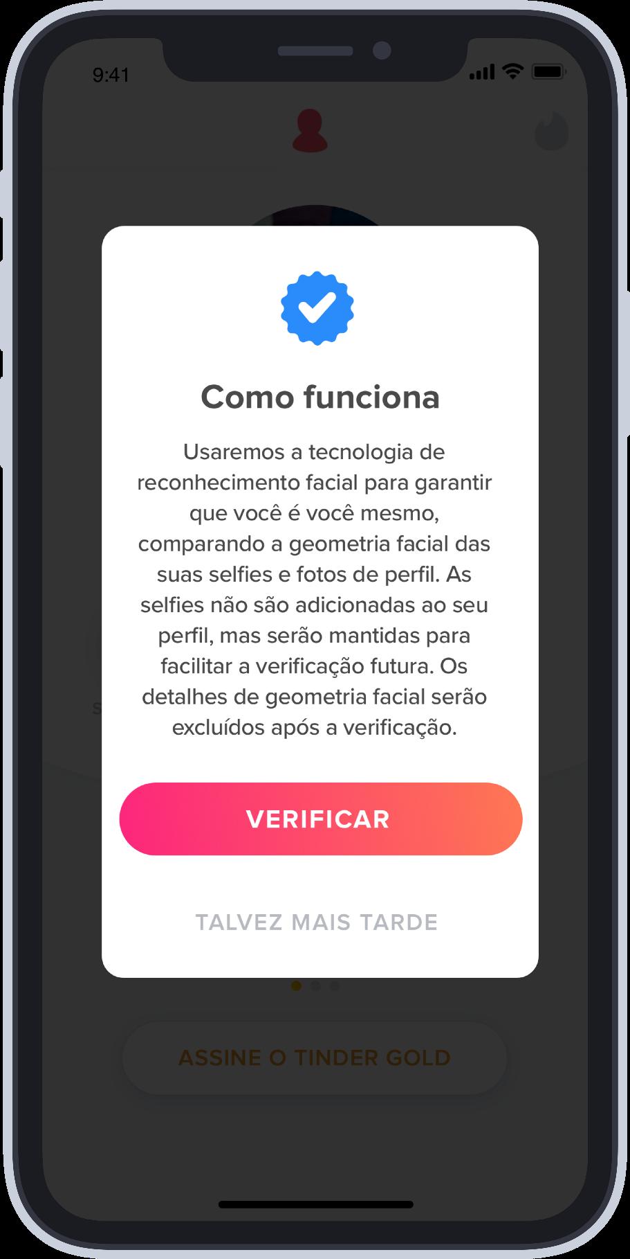 Saiba como conseguir selo de verificação no Tinder