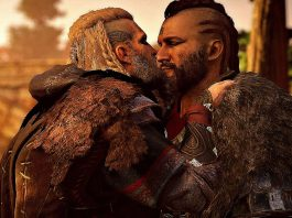 Vídeo de Assassin's Creed Valhalla mostra cenas de pegação gay entre vikings