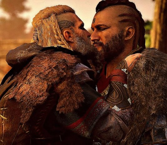 Vídeo de Assassin's Creed Valhalla mostra cenas de pegação gay entre vikings