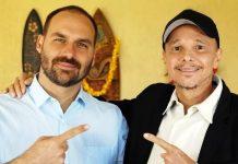Ex-cantor Netinho diz a Eduardo Bolsonaro que não copula há quatro anos