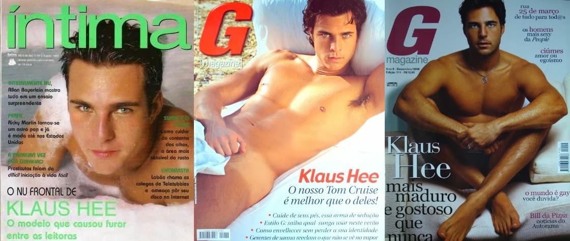 Klaus Hee - Capas G Magazine
