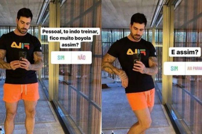 """Ex-BBB Rodrigão pergunta se sua roupa está """"muito boiola"""" e reacende debate sobre """"brincadeiras inocentes"""""""