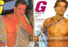 Duas vezes para a G Magazine, David Cardoso Jr. surta por ver Thammy em ação da Natura